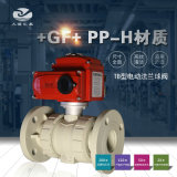 +GF+ 546型pph法兰式电动球阀 工业阀门