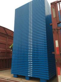 綦江物流托盤廠家1米x1米網狀田字貨物塑料托盤