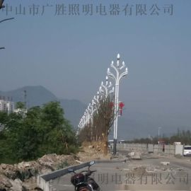 玉蘭路燈工程案例GWD-YLD12000
