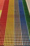 庭院格柵板 拉擠玻璃鋼纖維格柵 不變形格柵板