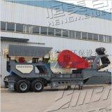 時產100噸石子破碎機廠家 移動砂石建築垃圾破碎機