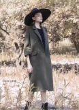 新款女裝沐沐服飾庫存尾貨資源阿爾巴卡19冬女裝大衣