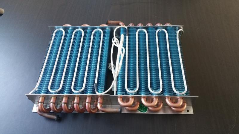 低温实验室风冷翅片蒸发器,冷凝器,换热器