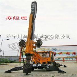 小型旋挖钻机 螺旋打桩机厂家