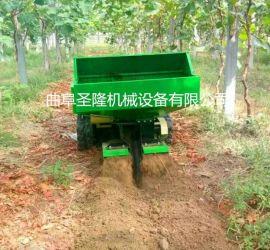 田园开沟施肥机,低矮小型果园管理机