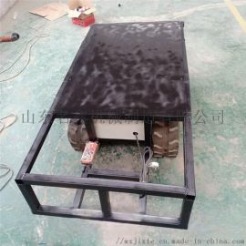 厂家直销液压橡胶履带底盘 收割机地盘