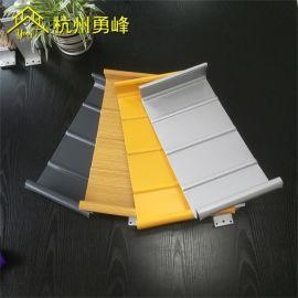 钢结构屋面板 体育馆屋面系统 铝镁锰材质可施工