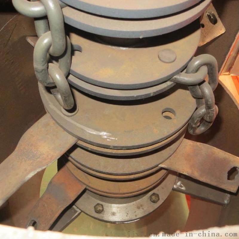 粪便立链式粉碎机 有机肥生产线链板粉碎机