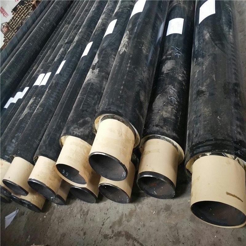 邢台 鑫龙日升 耐高温钢套钢蒸汽保温管dn400/426供暖聚氨酯直埋管道