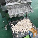 自动带刮渣椒盐小酥肉油炸机 3000型小酥肉裹粉机
