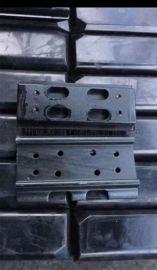 中联LTU120摊铺机分体履带板 一体胶块