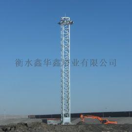 21.5米25米升降式投光灯塔加工订做安装