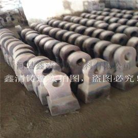 鑫清铸件 破碎机 双金属复合锤头 组合锤头 厂家直销