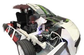 供应上海茂育制造MYXNQ-04 电动汽车整车解剖模型