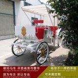 欧伦马车婚庆摄影景区旅游观光马车楼盘展示观光马车