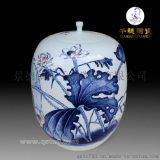 景德鎮手繪高檔陶瓷花瓶  手繪名家高檔陶瓷花瓶