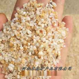宜春长期供应本格石英砂 水处理石英砂 铸造用石英砂