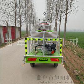 园林绿化喷洒车电动洒水车新能源电动四轮雾炮洒水车