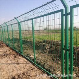 工厂自销 框架护栏网 山东院墙边框围栏 围墙框架网