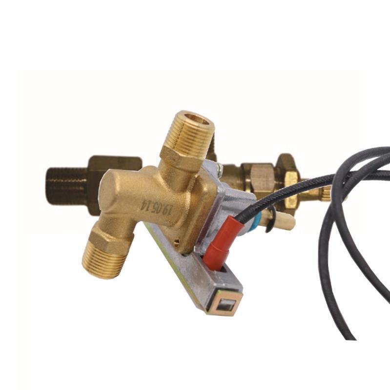 黃銅安全熄火保護燃氣閥帶壓電點火電子打火裝置壁掛爐閥 冰箱閥