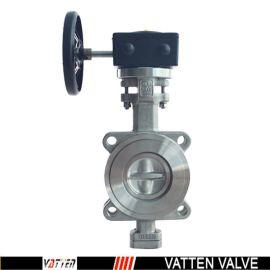 德国VATTEND671X-10\16上海生产厂家中德合资 德国vatten品牌、 手动硬密封蝶阀