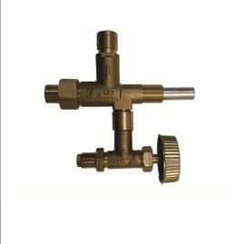 廠家直銷燃氣野營爐具,簡易爐具閥門QF024