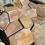 厂家直销虎皮黄文化石 黄色天然文化石 黄木纹板岩外墙砖
