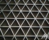 鋁格柵天花 鋁格柵吊頂 三角鋁格柵 鋁格柵定製廠家