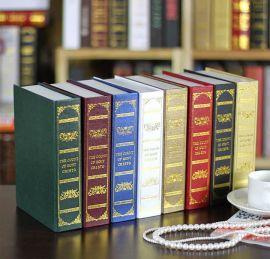 家居装饰摆件  仿真书    摄影道具书   模型书  假书