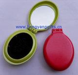 供应椭圆形镜梳、便携折叠梳子、可加印LOGO