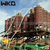 玻璃钢螺旋溜槽 洗煤螺旋溜槽厂家 1.5米溜槽现货