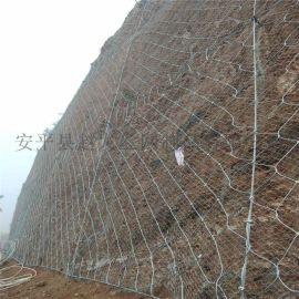 主动边坡防护网.包塑主动防护网.边坡防护网型号