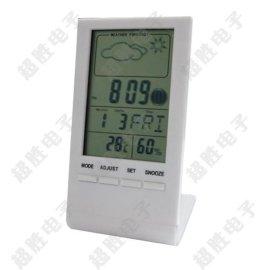 厂家直销ST-8016B数字天气预报钟