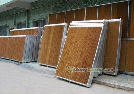 中山厂房水帘通风降温设备/负压风机水帘降温/温室大棚降温通风设备