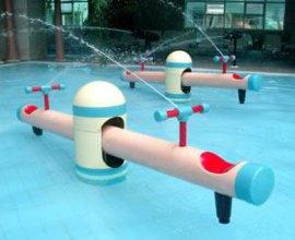 供应水上乐园设备:儿童戏水小品之跷跷板