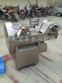 新金龙酱菜厂专用切榨菜机 大型双头榨菜切丝机