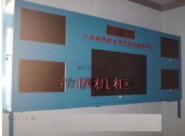 立腾机柜经济型4+1孔挂墙电视墙
