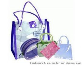 专业订做PVC手挽袋 PVC环保化妆袋 规格不限