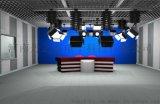 虚拟演播室,企业电视台,虚拟蓝箱设计,中控室设备,导播,箱载