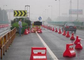 供應贛榆道路塑料水馬,道路隔離墩