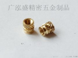供龙岗螺母深圳M3注塑螺母广泓盛铜螺母工厂