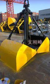 电动悬挂抓斗XCZ5配3吨起重机吊钩葫芦抓斗,物料斗,抓沙斗