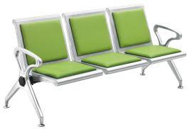 郑州批发皮艺公共连排椅 三人位等候椅 机场椅排椅 现代简约排椅
