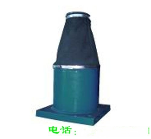 HYD125-220液压缓冲器 缓冲行程220mm 法兰厚25mm 螺栓孔φ38mm 缓冲力570kn