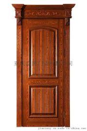 成都实木复合门厂 烤漆室内门加盟 复合平板门 实木套装门