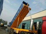 设计定做6.5米到11米新半挂后翻自卸货车