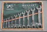 泰山鏡面呆扳手組套/套裝8件 10件12件雙開口/雙頭呆扳手 東工