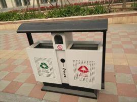 直销不锈钢街道小区景点分类垃圾箱果皮箱室内  垃圾桶