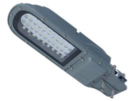 厂家直销led搓衣板路灯头 30W压铸路灯