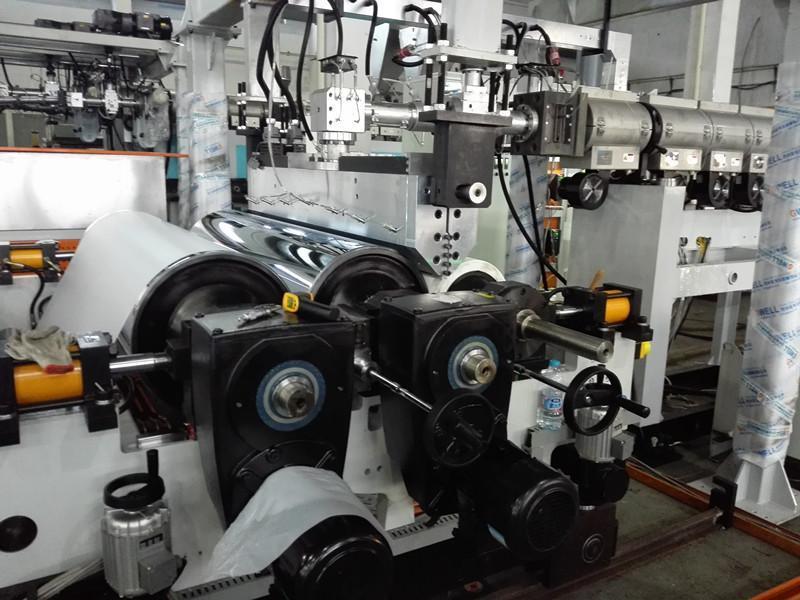 厂家专业生产ASA膜复合树脂瓦设备 ASA流延膜挤出机厂商